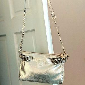 100% Gold Goat Leather bag